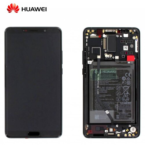 Original Huawei Mate 10 LCD Display+Touch Screen Bildschirm Rahmen mit Akku 02351QAH Black