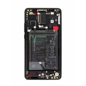 Original Huawei Mate 10 LCD Display+Touch Screen Bildschirm Rahmen mit Akku 02351QAH Black