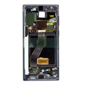 Samsung Galaxy Note 10 SM-N970F GH82-20818A LCD Display Touch Screen (Service Pack) Schwarz