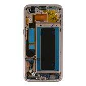 Samsung Galaxy S7 EDGE G935F LCD Display+Touch Screen Bildschirm Blau (Service Pack) GH97-18533G