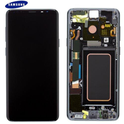 Samsung Galaxy S9 Plus G965F LCD Display+Touch Bildschirm (Service Pack) GH97-21691C Grau