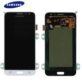 Samsung Galaxy J3 2016 SM-J320F LCD Display Touch Screen Weiß (Service Pack) GH97-18414A