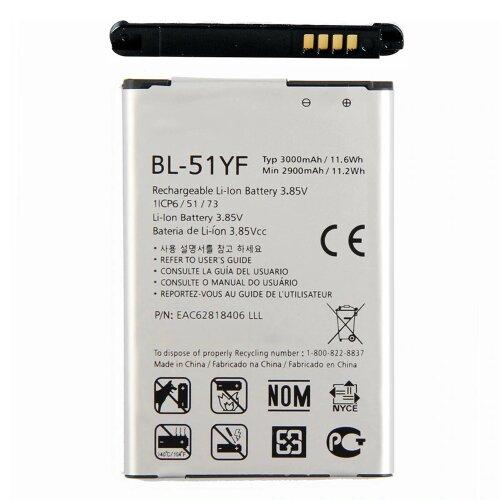 LG G4 H815 G4 Dual Sim H818P G4 Stylus H635 BL-51YF Akku Battery 3000mAh
