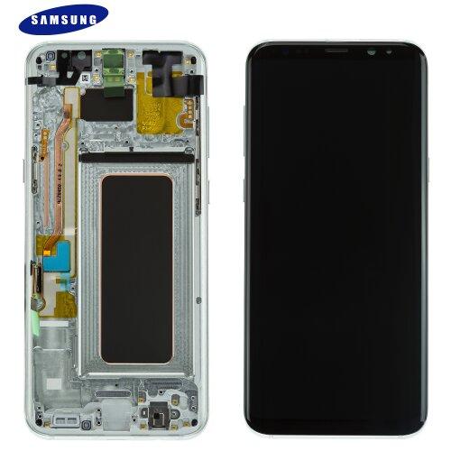 Samsung Galaxy S8 Plus SM-G955F LCD Display Touch Screen Bildschirm Silber GH97-20470B