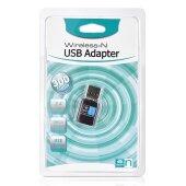 300 Mbps Mbit/s WLAN WIFI Adapter Stick 2.4GHz (kompatibel zu Windows 8.1/8/10//7/XP/Vista, Mac OS, Linux )