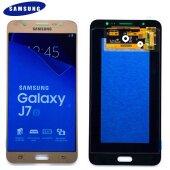 Original Samsung Galaxy J7 2016 SM-J710F J710FN/DS LCD Display Touch Screen Glas Bildschirm Gold