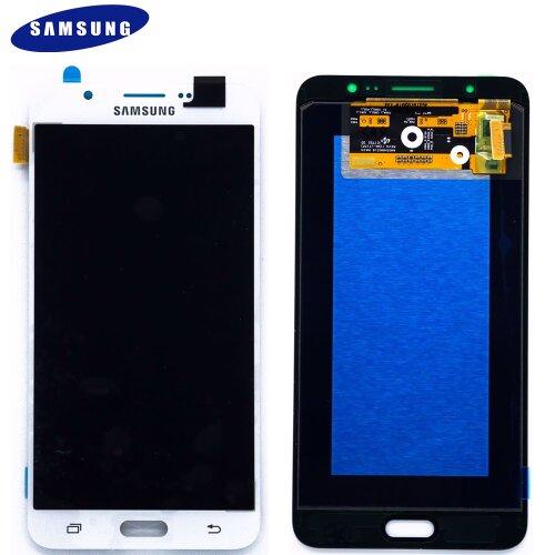 Original Samsung Galaxy J7 2016 SM-J710F J710FN/DS LCD Display Touch Screen Glas Weiß
