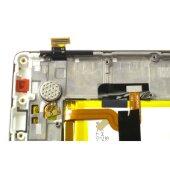 Original Huawei P8 Lite LCD Display Touch Screen Bildschirm Rahmen mit Akku Weiß