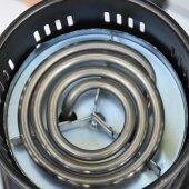 Elektrischer Kohleanzünder Shisha Kohle Brenner Grill Anzünder mit abnehmbare Greifzange 600W