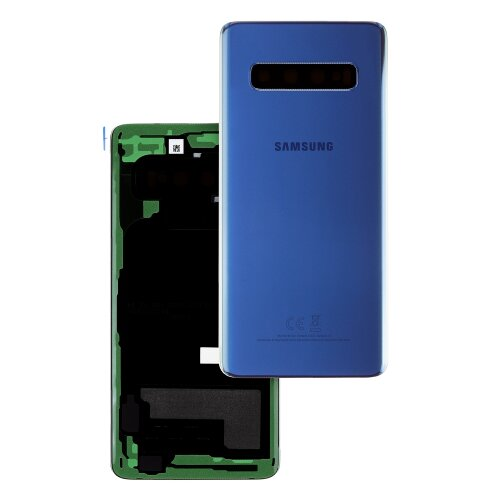 Original Samsung Galaxy S10 SM-G973F Akkudeckel Battery Cover Backcover Rückseite Blau GH82-18378C