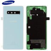 Original Samsung Galaxy S10 Plus G975F Akkudeckel Backcover Prism Weiß GH82-18406F