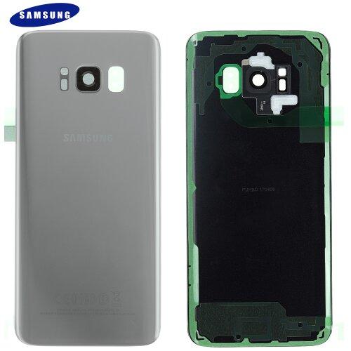 Original Samsung Galaxy S8 SM-G950F Akkudeckel Battery Cover Backcover Rückseite Silber GH82-13962B
