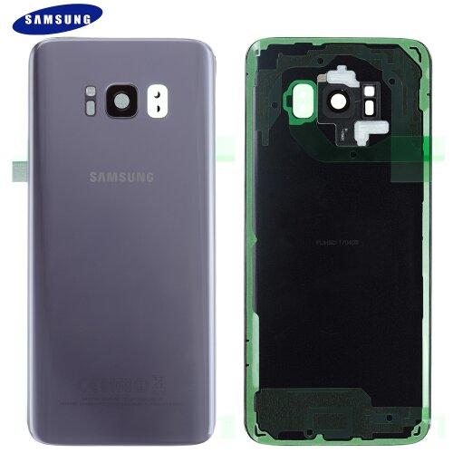 Original Samsung Galaxy S8 SM-G950F Akkudeckel Battery Cover Backcover Orchid Grau GH82-13962C