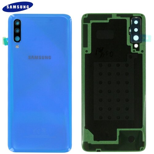 Original Samsung Galaxy A70 A705F Akkudeckel Battery Cover Backcover Blau GH82-19467C