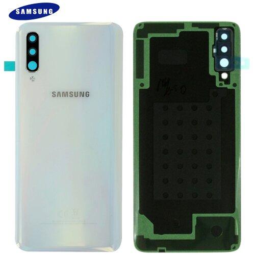 Original Samsung Galaxy A70 A705F Akkudeckel Battery Cover Backcover Weiß GH82-19467B