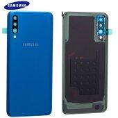 Original Samsung Galaxy A50 A505F Akkudeckel Battery Cover Backcover Blau GH82-19229C