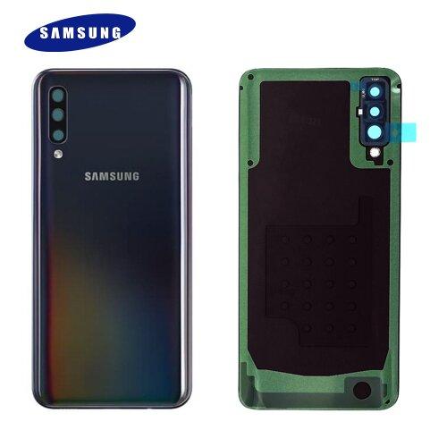 Original Samsung Galaxy A50 A505F Akkudeckel Battery Cover Backcover Schwarz GH82-19229A