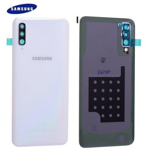Original Samsung Galaxy A50 A505F Akkudeckel Battery Cover Backcover Weiß GH82-19229B