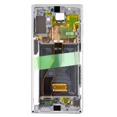 Samsung Galaxy Note 10+ 10 Plus SM-N975F GH82-20900C / GH82-20838C LCD Display Touch Screen Silber