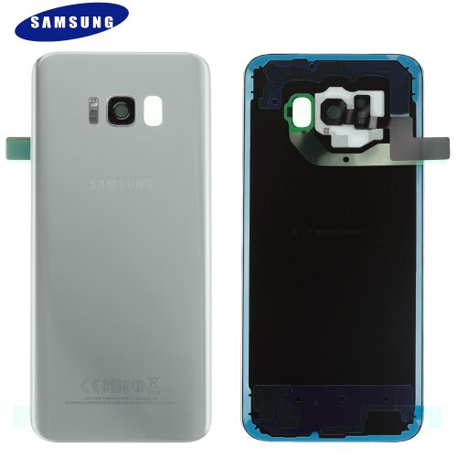 Original Samsung Galaxy S8 Plus G955F Akkudeckel Battery Cover Backcover Rückseite Silber GH82-14015B