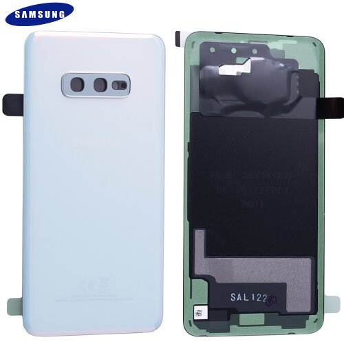 Original Samsung Galaxy S10e G970F Akkudeckel Battery Cover Backcover Rückseite Weiß GH82-18452F