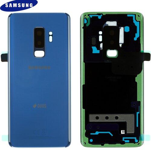 Original Samsung Galaxy S9 Plus G965F Akkudeckel Battery Cover Backcover Blau GH82-15660D