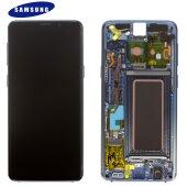Samsung Galaxy S9 SM-G960F LCD Display Touch Screen Bildschirm Polaris Blau GH97-21696G