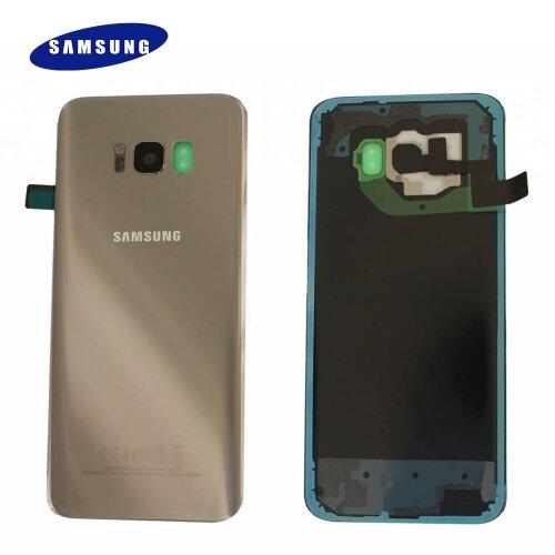 Original Samsung Galaxy S8 Plus G955F Akkudeckel Battery Cover Backcover Rückseite Gold GH82-14015F