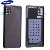 Original Samsung Galaxy A51 A515F Akkudeckel Battery Cover Backcover Schwarz GH82-21653B