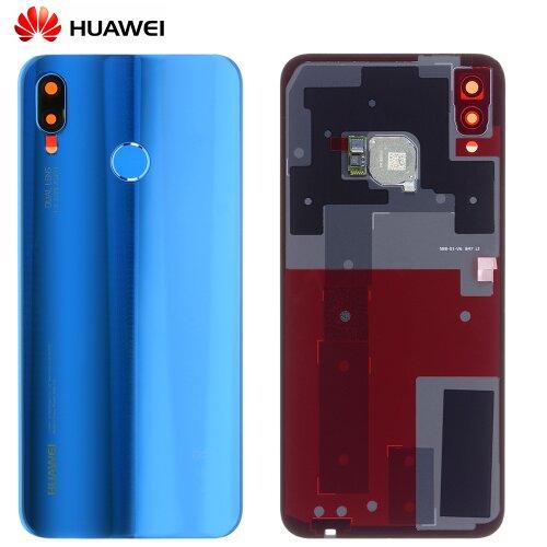 Original Huawei P20 Lite Akkudeckel Backcover mit Fingerprint Blau 02351VNU / 02351VTV