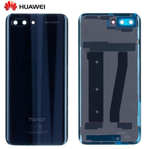 Original Huawei Honor 10 Akkudeckel Rückseite Backcover Schwarz 02351XPC