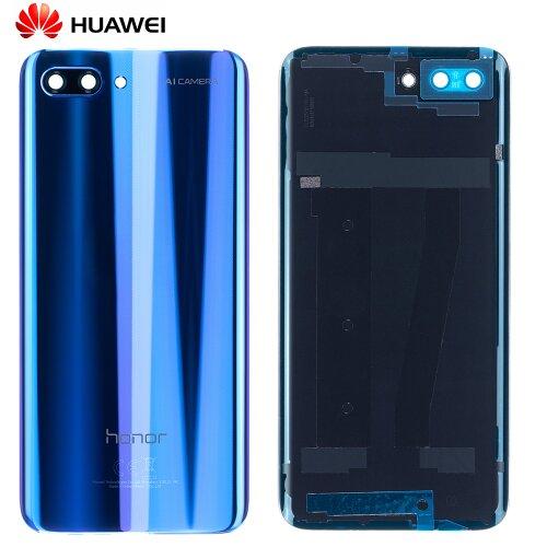 Original Huawei Honor 10 Akkudeckel Rückseite Backcover Blau 02351XPJ