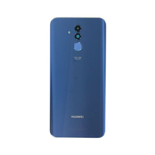 Original Huawei Mate 20 Lite Akkudeckel Battery Cover Backcover mit Fingerprint Blau 02352DKR