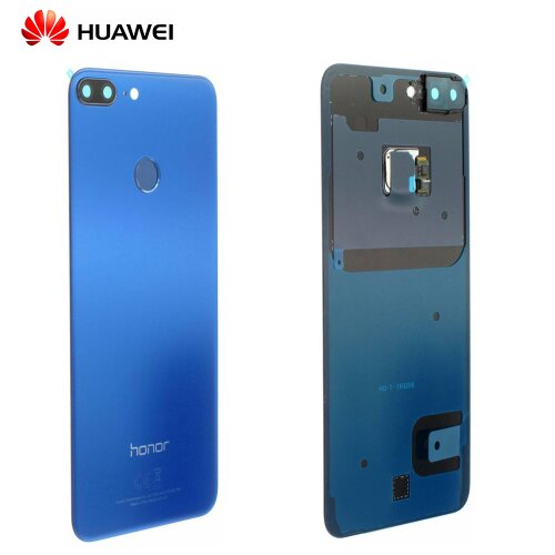 Original Huawei Honor 9 Lite Akkudeckel Backcover mit Fingerprint Blau 02351SYQ / 02351SMP