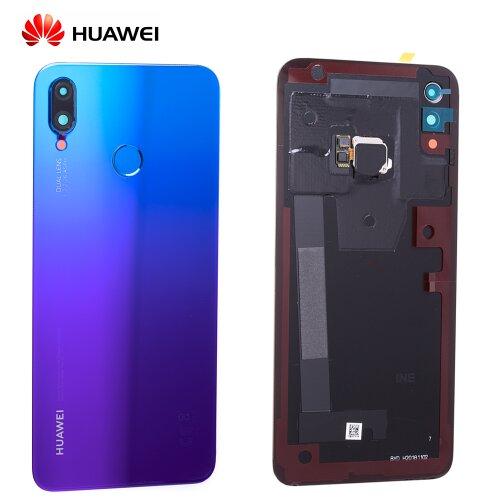 Original Huawei P Smart Plus Akkudeckel Backcover mit Fingerprint Purple 02352CAK