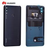 Original Huawei Honor 10 Lite Akkudeckel Backcover mit Fingerprint Schwarz 02352HAE