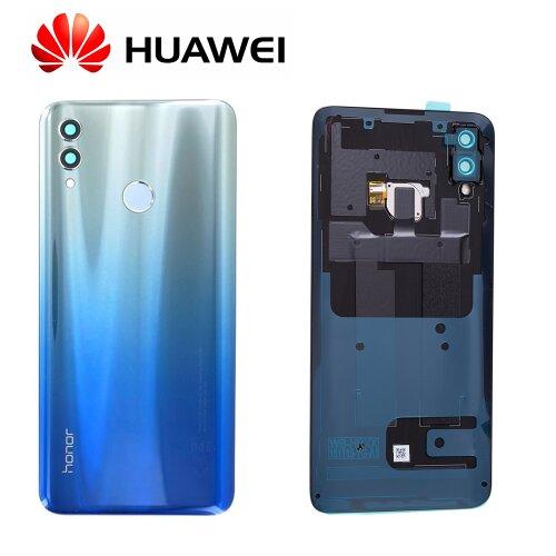 Original Huawei Honor 10 Lite Akkudeckel Backcover mit Fingerprint Sky Blau 02352HUX