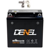 Gel Motorrad Batterie 12N9-4B-1 YB9-B CB9-B 12V 9Ah ATV...
