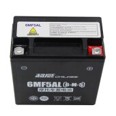 Gel Motorrad Batterie YB5L-B CB5L-B 12N5-3B 12V 5Ah ATV Motorroller Quad Wartungsfrei