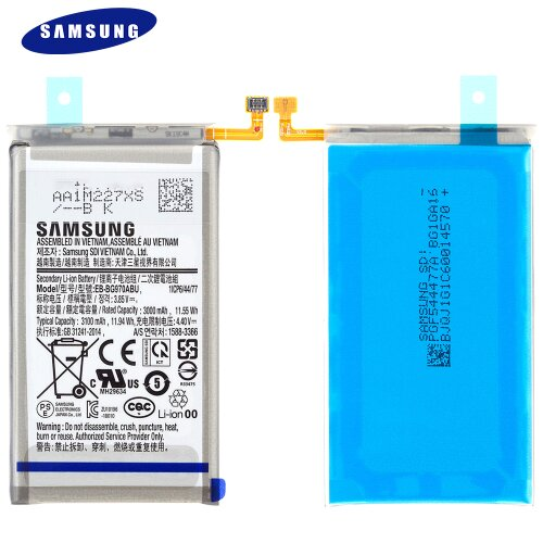 Original Samsung Galaxy S10e SM-G970F Akku Batterie Battery EB-BG970ABU 3100mAh