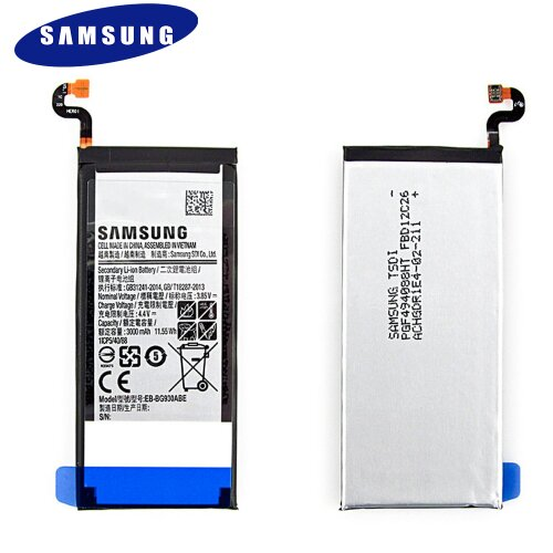 Original Samsung Galaxy S7 G930F Akku Batterie Battery EB-BG930ABE 3000mAh