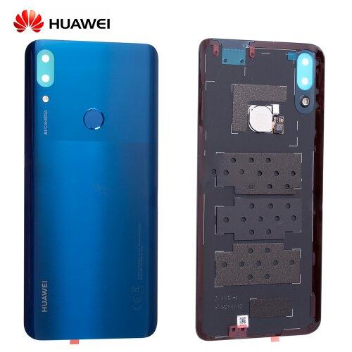 Original Huawei P Smart Z Akkudeckel Battery Cover Backcover mit Fingerprint ID 02352RXX Blau