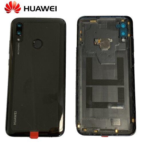 Original Huawei P Smart 2019 Akkudeckel Battery Cover Backcover mit Fingerprint Schwarz 02352HTS