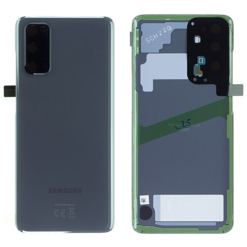 Original Samsung Galaxy S20 G980F / 5G G981B Akkudeckel Back Cover Cosmic Grau