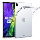 iPad Pro 11 (2020) Schutz Hülle Silikon Back Cover Slim Case TPU Transparent