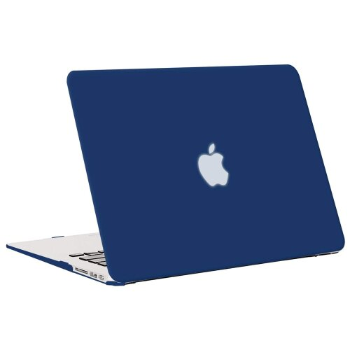 Apple MacBook Air 13 Schutz Hülle Hard Cover Case A1369 A1466 (2010-2017 Version) Blau