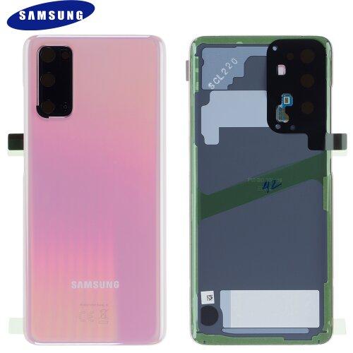 Original Samsung Galaxy S20 G980F / 5G G981B Akkudeckel Back Cover Cloud Pink