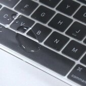 Apple MacBook Pro 13 15 Zoll (A2159 / A1989 / A1706 / A1990 / A1707) Tastaturschutz Silikon Abdeckung