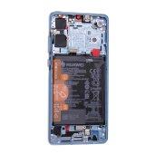 Original Huawei P30 OLED LCD Display+Touch Screen mit Akku Breathing Crystal 02352NLP