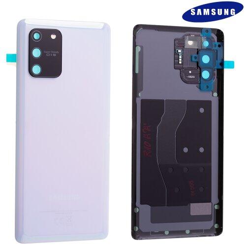 Original Samsung Galaxy S10 Lite G770F Akkudeckel Back Cover Prism Weiß GH82-21670B